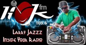"""Larry Jazz Z """"Inside your Radio"""""""
