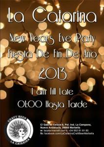 La Catarina 31:12:2014 New Years Eve Party