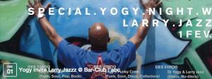 Larry  At Bar Club l'abc 1st February 2014
