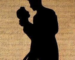Wedding Couple Silhouette 2